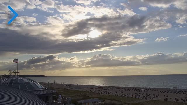 Bild zeigt Kanal Warnemünde